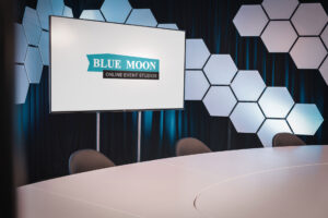 Blue Moon Online Event Studios at Flanders Expo